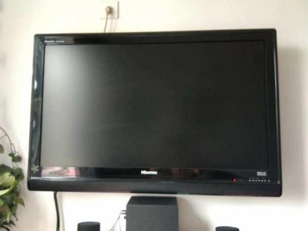 液晶电视为什么有声音黑屏